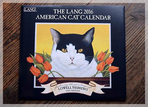 2016年 LANG カレンダー