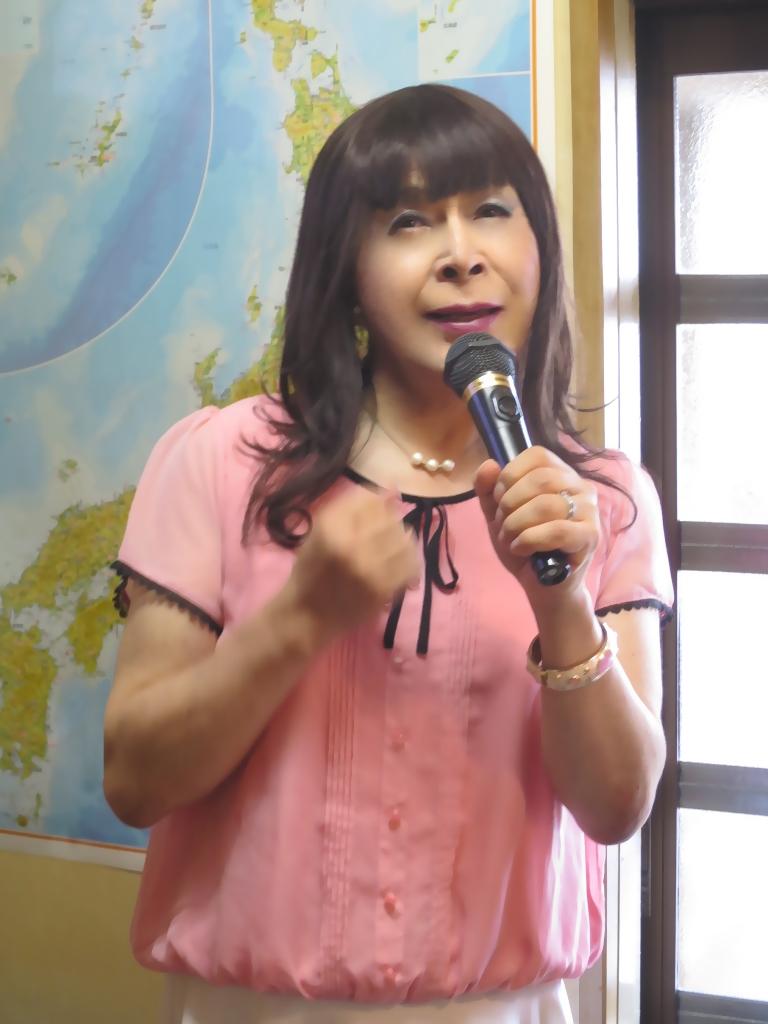 ピンクブラウスカラオケ(1)