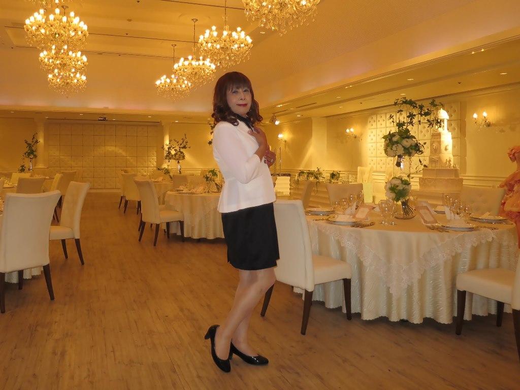 白ジャケットワンピB(3)