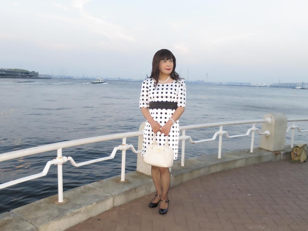水玉ワンピ山下公園(4)