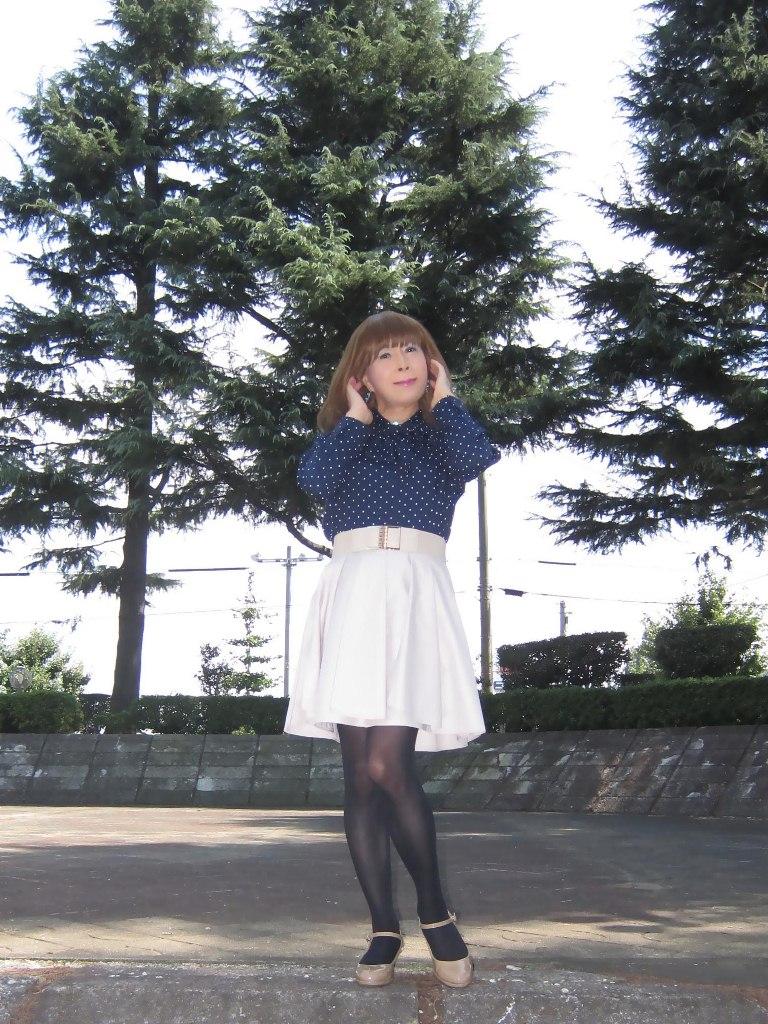 紺水玉ブラウスA(2)