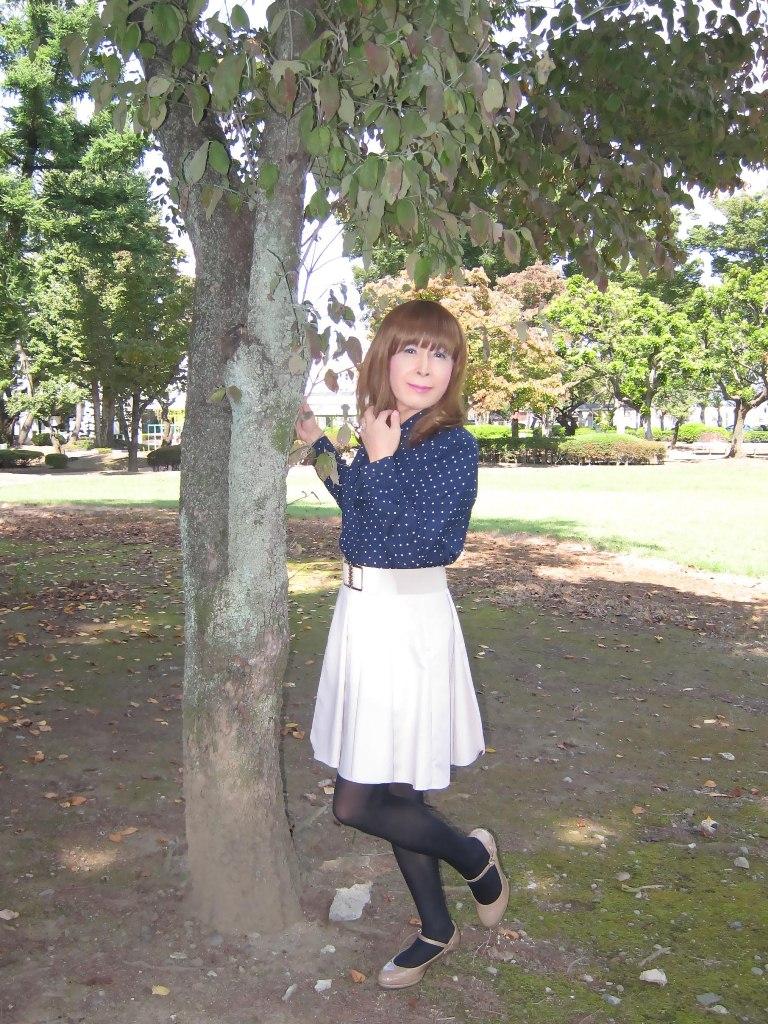 紺水玉ブラウスA(5)