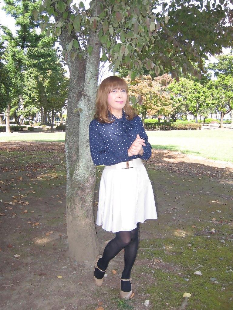 紺水玉ブラウスA(8)
