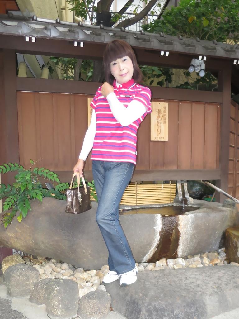 湯田中温泉ポロシャツA(1)
