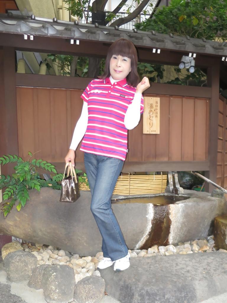 湯田中温泉ポロシャツA(2)