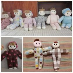 タオル人形collage_photocat
