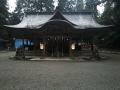 伊和神社 社殿
