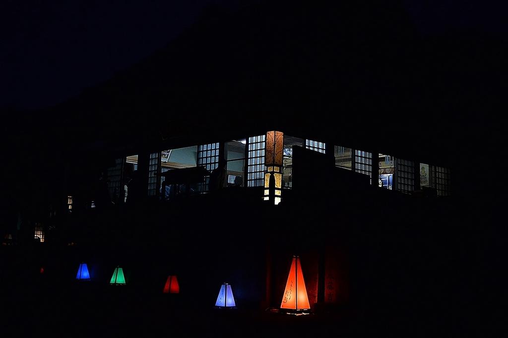 長法寺の灯り