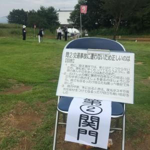 20150913マレットゴルフ交通安全問題