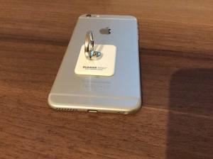 iPhone6sPlusにバンカーリング