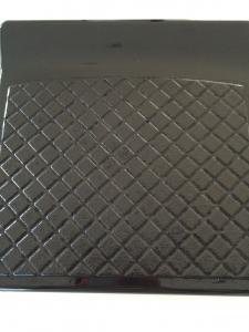 排水溝の蓋クエン酸変色テスト