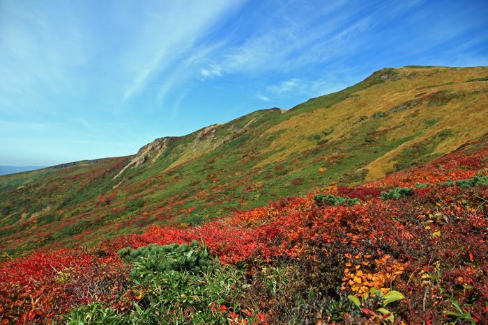s150923中央コースから見た栗駒山