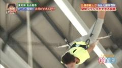 浅田舞空中ブランコ胸チラ画像3