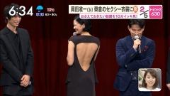 榮倉奈々背中出しドレス画像3