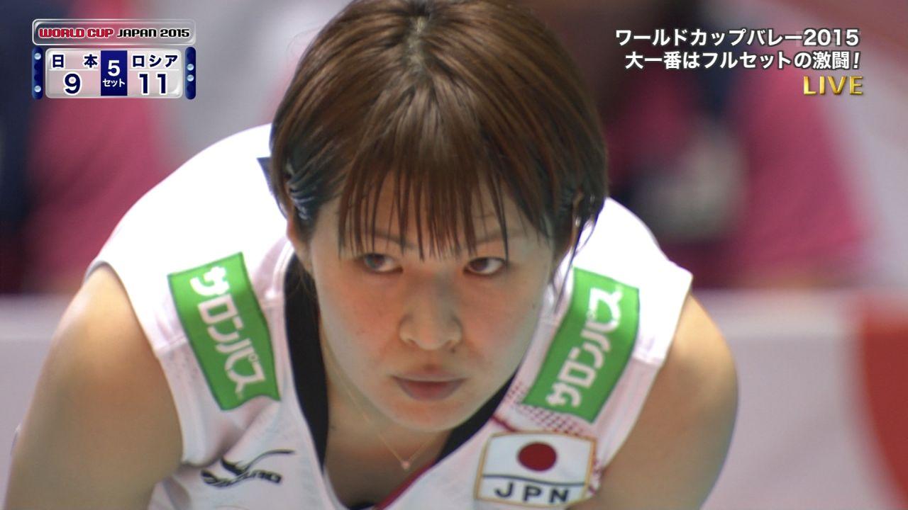木村沙織が胸チラシーンを撮られまくりな件wwwwwwwwwwwwww(女子ワールドカップバレー)