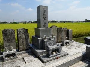 烈元の実家 澤村家の墓所