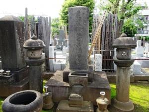 山鹿素行の墓