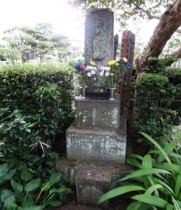 喜多川歌麿の墓