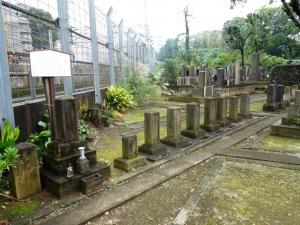 安田家の墓所
