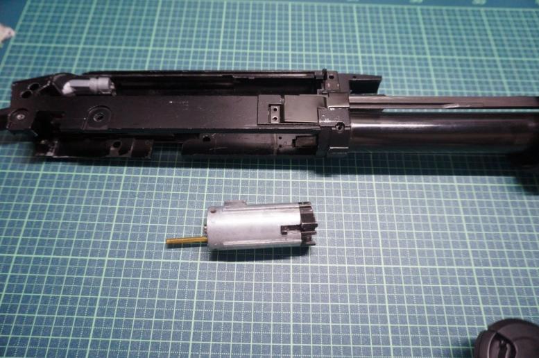 M870モデルガン化其の1 (1)