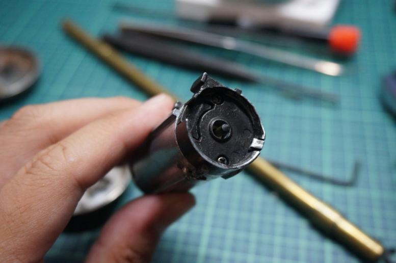 M870モデルガン化其の1 (4)