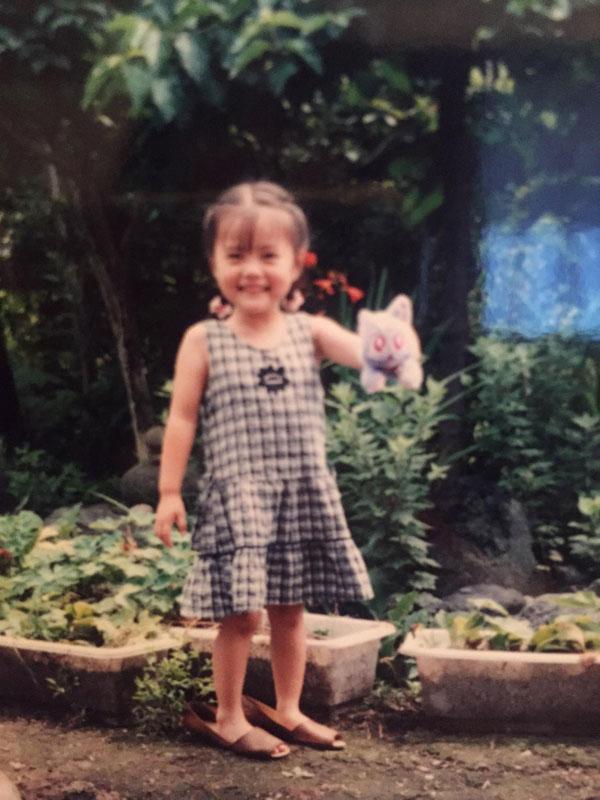 白石麻衣 小さい頃の写真
