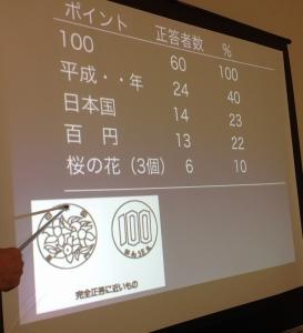 100円玉テスト結果②
