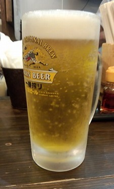 生ビール天洋20150819