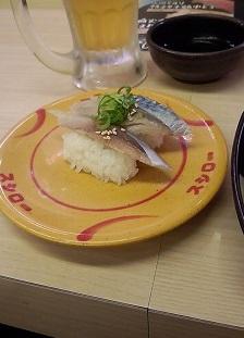 〆鯖スシロー20150824