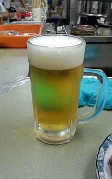 生ビール300円なかのぶんてん