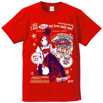 真姫ちゃん推しTシャツイメージ