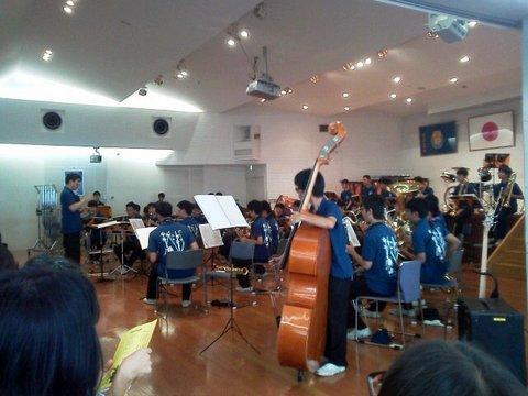 けやき祭の演奏2015