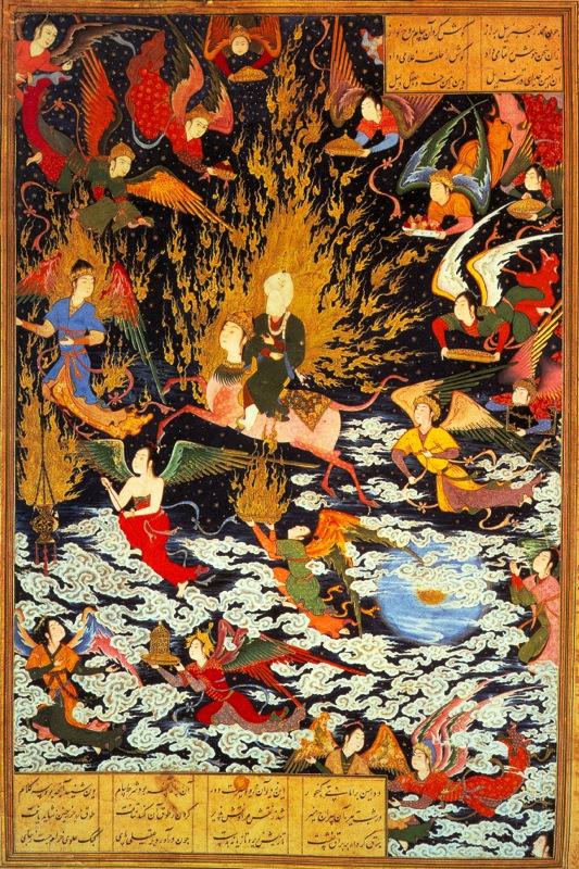 ムハンマドの夜の旅と昇天