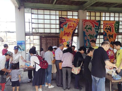 第3回岩美町イカ祭り&コスプレイベントボイルしろイカ