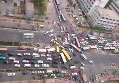 北京交通阻塞1