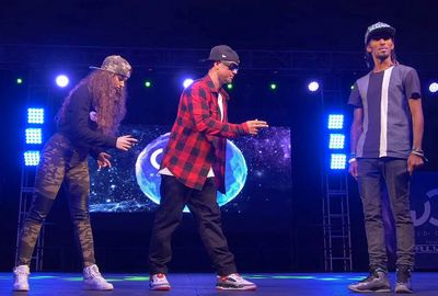 Nonstop, Dytto, Poppin John FRONTROW World of Dance Los Angeles 2015 #WODLA15_fc2