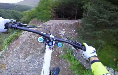 Gee Atherton Tests INSANE MTB Trail - Red Bull Hardline