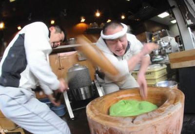 Fastest Mochi Making in Japan