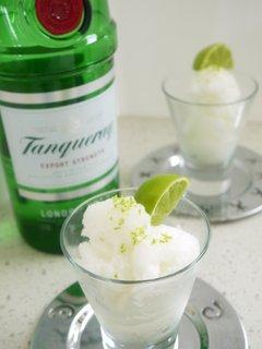 Gin&tonic sorbet
