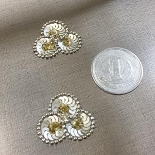 1円玉刺しゅう