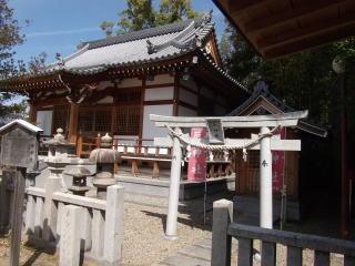 中筋八幡神社本殿