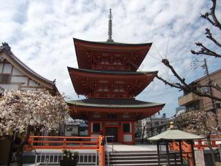 本興寺三重塔