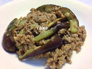 茄子と豚肉のピリ辛炒め