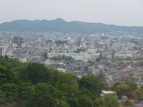 桐生市街地ズーム1