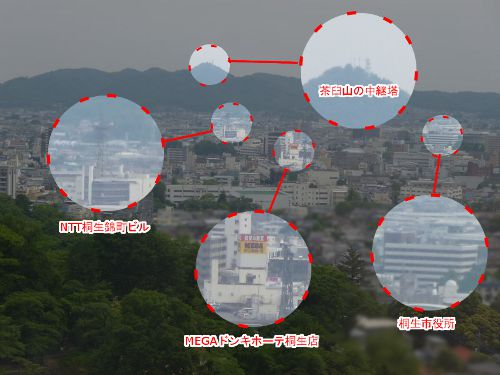 桐生市街地ズーム1の一部拡大