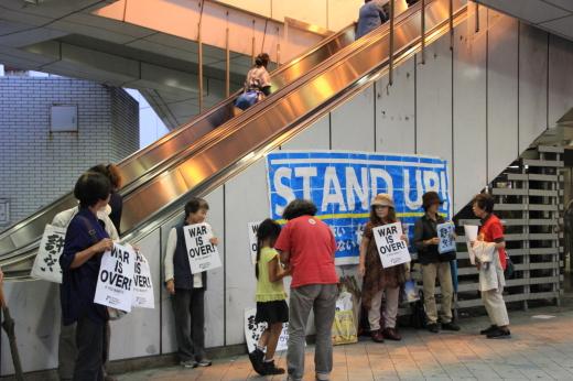 安保法廃止への草の根抗議運動