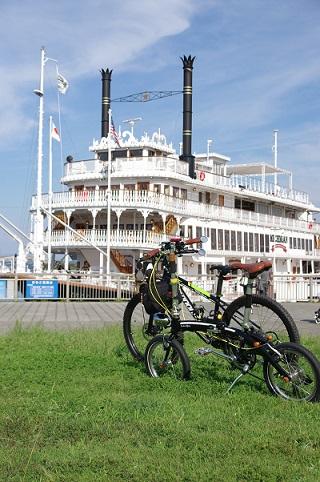 ミシガン&自転車1522