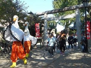 鴻巣おおとりまつり2014年10月撮影