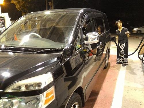 車中泊2011508②
