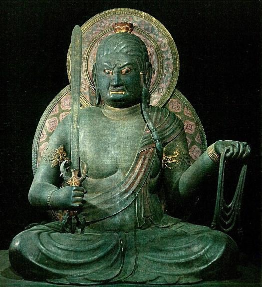 東寺御影堂・不動明王坐像(日本の美術「貞観彫刻」至文堂刊掲載)